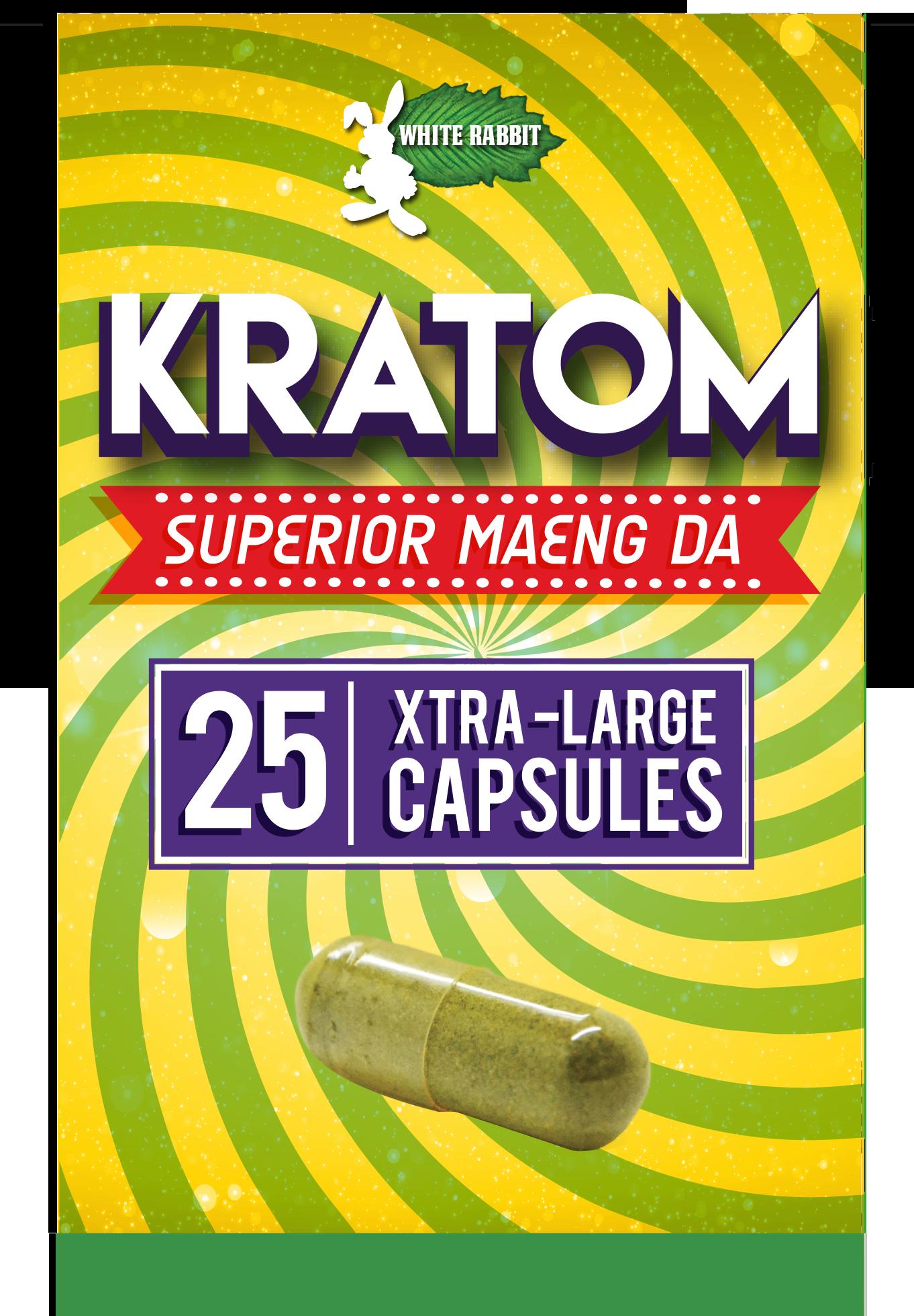 25 Maeng Da Capsules