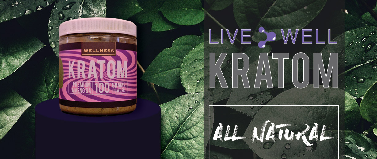 Live well Kratom all natural maeng da